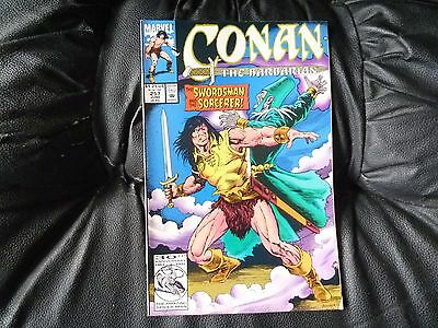 Conan the  Barbarian #  257 in nice condition  but for slight damp problem