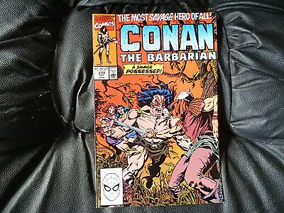 Conan the  Barbarian #  239 in nice condition  but for slight damp problem