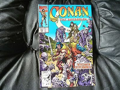 Conan the  Barbarian #  252 in nice condition  but for slight damp problem