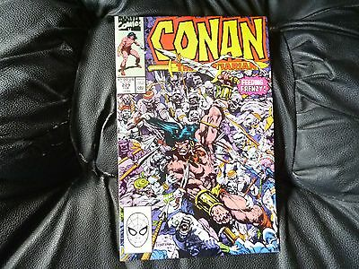 Conan the  Barbarian #  229 in nice condition  but for slight damp problem