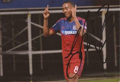 CHICAGO FIRE: GRANT WARD SIGNED 6x4 ACTION PHOTO+COA
