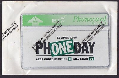 *british Telecom Phonecard Mint.£2. Phoneday 1995.in Sealed Packing.*