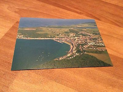 """Aerial View Of Rothesay, Isle Of Bute  Postcard  (7.5"""" X 5.5"""")"""