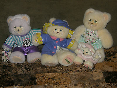 FISHER PRICE BRIARBERRY BEARS LOT - Lisaberry,Berrynicole,Ashleyberry, Babyjulie