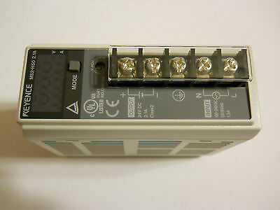 New Keyence MS2-H50 Compact Switching Power Supply Input 85-264V AC Output 24VDC