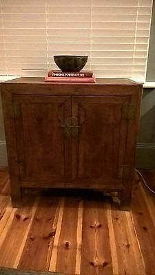 Asian cabinet Apothecary herb medicine drawers decorative storage tv stand