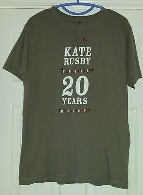 Kate Rusby T-shirt - 20 Years - Large