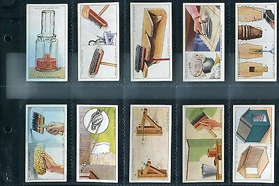 W.d.& H.o.wills: Household Hints 1936: Full Set In Sleeves