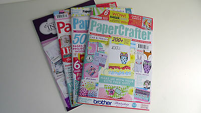 Papercrafter Magazine Collection: 4 in Total