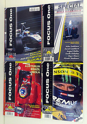 Formula One 1999 Magazine Collection: 4 in Total