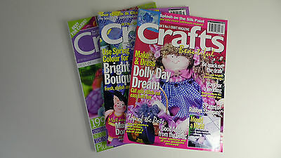 Crafts Beautiful Magazine Collection: 3 in Total