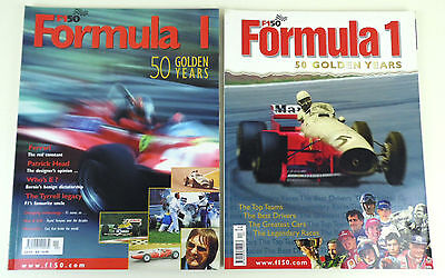Formula 1, 50 Golden Years Magazine Collection (2 Issues Total)