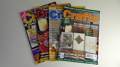 Popular Crafts Magazine Collection: 4 in Total