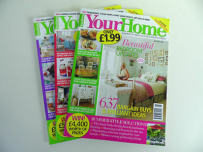 Your Home Magazine Collection: 3 in Total