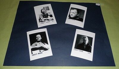 "Christy Moore Set of 6""x4""Inch Photos x4 Collectable Pop Memorabilia Prints J431"