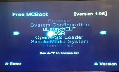 PS2 free mcboot official 8mb memory card