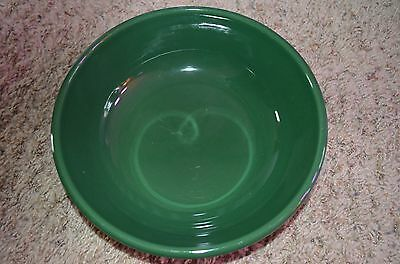 Green Serving Bowl - Freezer, Oven and Microwave Safe!