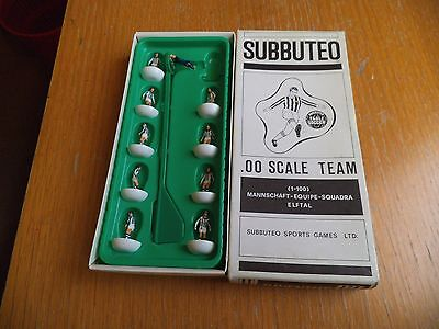 subbuteo juventus sealed box table soccer incompleto
