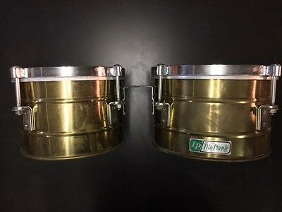 "VINTAGE collectible 1960's LP Tito Puente 11"" & 10"" Timbales"