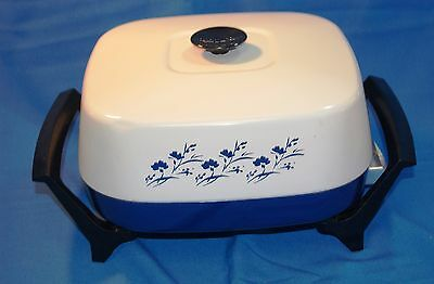Retro Vintage West Bend WestBend Electric Skillet / Griddle w/ Domed Lid