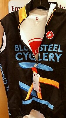 Castelli Thermal Cycling Vest M NWT