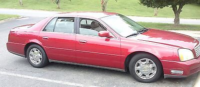 2001 Cadillac DeVille Candy Apple Red 2001 Cadillac Deville