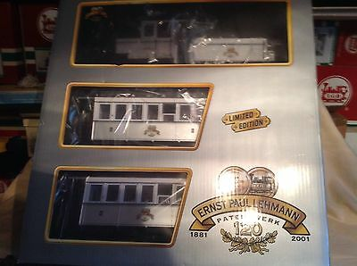 Lgb 29151 G Scale  Limited Edition Special 120 Year Train Set