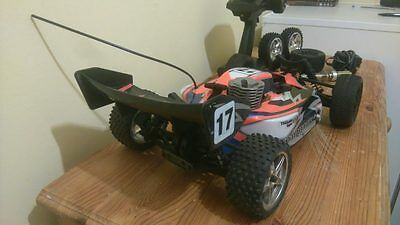 Tomahawk nitro powered 4WD off road Buggy siries 1:10
