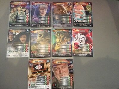 Doctor Who Battles In Time Sarah Jane Adventures 10 Card Set