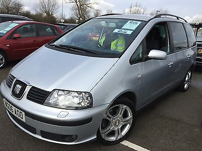 2006 Seat Alhambra Stylance Tdi 140 Bhp 7 Seats, Climate,alloys,6 Speed,lovely