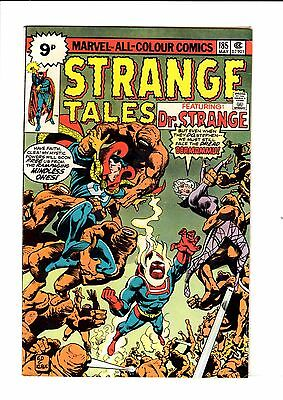 Strange Tales #185  UK Pence Copy  FN