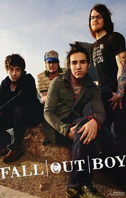 FALL OUT BOY - Music Group Band Poster ~ 24x36