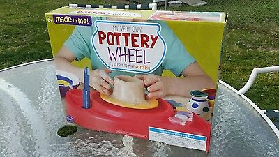 MOTORIZED Pottery Wheel For Kids / Made By Me BRAND / Brand New In Box!!