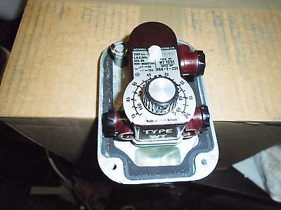 Satchwell Sunvic Industrial Immersion Thermostat Type Wt1251 Spec No 164-1-251/6
