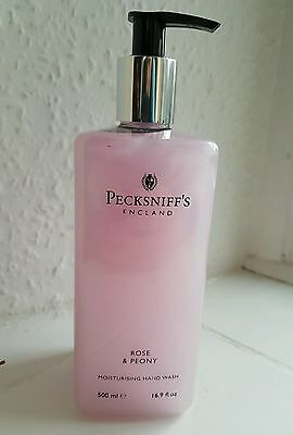 Pecksniffs rose and peony moisturising hand wash 500ml BRAND NES RRP £25