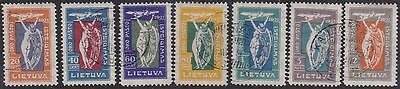 Lithuania 1921 Mi 109-15 Used