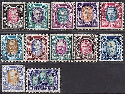 Lithuania 1922 Mi 126-137 Used