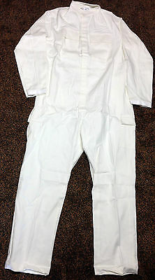 Overall Coverall Herrenoverall Gr. 190/124 NEU Baumwolle weiss