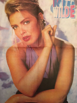 Kim Wilde Poster Geant 4 Pages