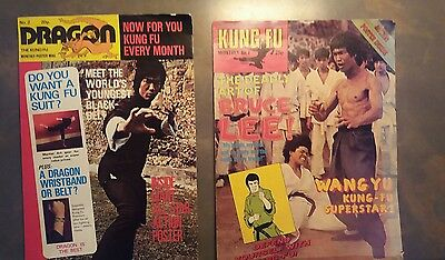 Bruce Lee Magazine KFM KUNG FU MONTHLY No 7 Martial Arts Enter The Dragon Poster
