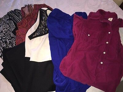LOT of 5 Women Dresses Different Brands( Old navy, London Times) Size XL