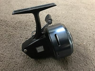 Amazing Condition Vintage Abu 506 Closed Face Match Fishing Reel Spinning Reel
