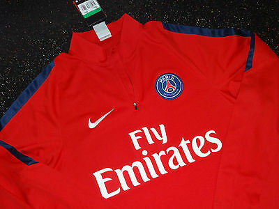 Nike PSG Paris Saint-Germain  Mid Layer Training Shirt XL