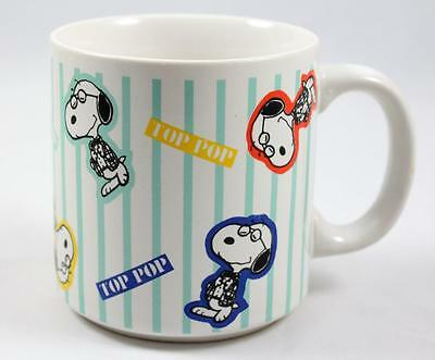 Peanuts Snoopy Top Pop Coffee Mug, Copyright 1958 Father's Day