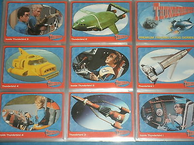 THUNDERBIRDS 'Cards Inc. 2001 Master Set' w/Rare Foil & Ultra Rare Chase Cards