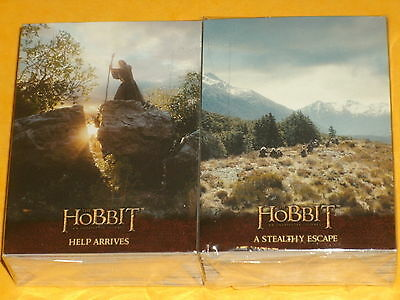 The Hobbit 'An Unexpected Journey' Base Set OF 101 Trading Cards Lord Of Rings