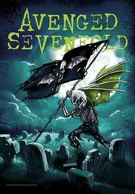 AVENGED SEVENFOLD - CEMETARY - FABRIC POSTER - 30 x 40  WALL HANGING 52141