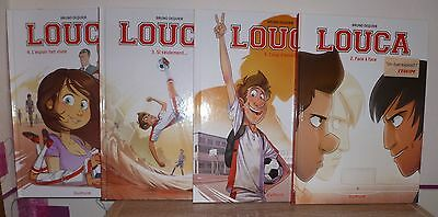 Louca (bd football), lot de 4 tomes (1 à 4 - tous EO)