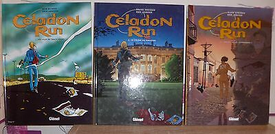 Celadon run, lot de 3 tomes (1 à 3, tous EO)