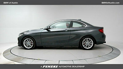 2016 BMW 2 Series 228i 228i 2 Series 2 dr Coupe Automatic Gasoline 2.0L 4 Cyl Mineral Gray Metallic